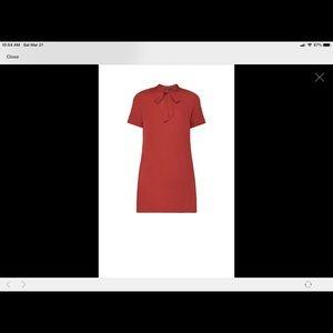 "BCBGMAXAZRIA XS ""Rustic""  one piece shirt dress"